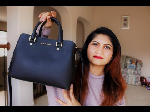 MICHAEL KORS Savannah Medium Satchel | Review & Demo