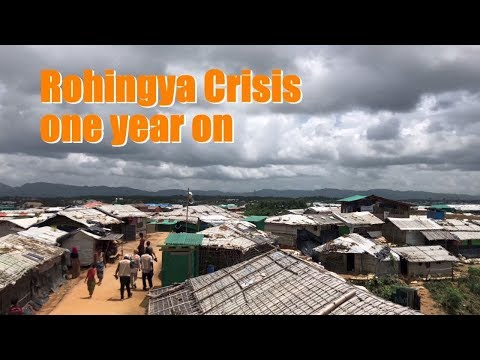 UNFPA Country Representative Asa Torkelsson visits the Cox's Bazar Refugee Camps