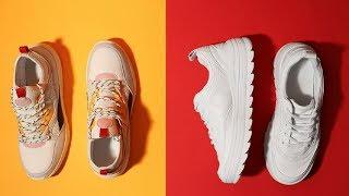 Как красиво завязывать шнурки на кроссовках с 5 дырками