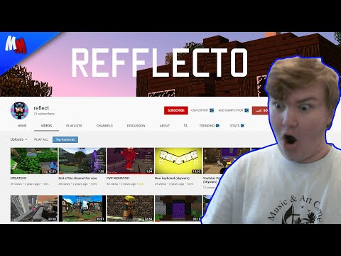 Reacting to MY FIRST EVER CHANNEL!