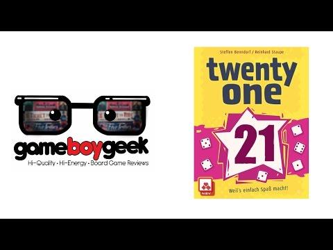 The Game Boy Geek Reviews Twenty One