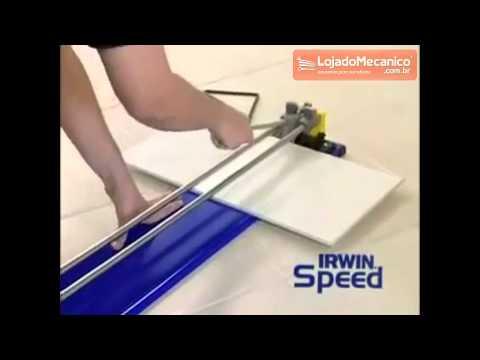 Cortadores de Pisos e Azulejos 90 cm - Video