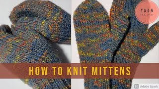 #9 How to Knit Mittens