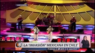 """La """"invasión"""" mexicana en Chile"""