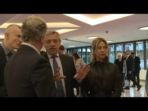 Alberto Fernández de reunió con el director del Programa Mundial de Alimentos de Naciones Unidas