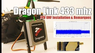 FPV Dragonlink 433 Mhz V3 SLIM initial setup - ID change, Bind, Failsafe [FR]