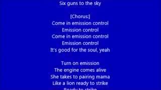 AC/DC - Emission Control (lyrics)