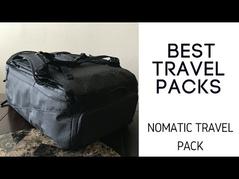 Best Travel Packs: Nomatic Travel Bag
