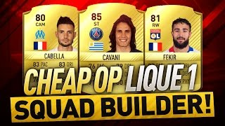 20K OVERPOWERED LIGUE 1 FIFA 17 Squad Builder w/ Custom Tactics & Player Instructions