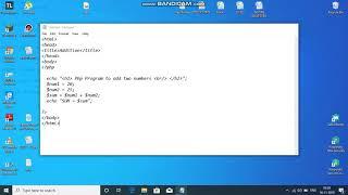 Execute PHP file using XAMPP