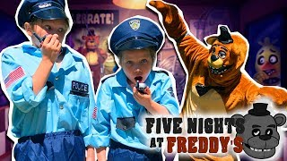 We could not escape from Freddy! Five Nights at Freddy's in real life