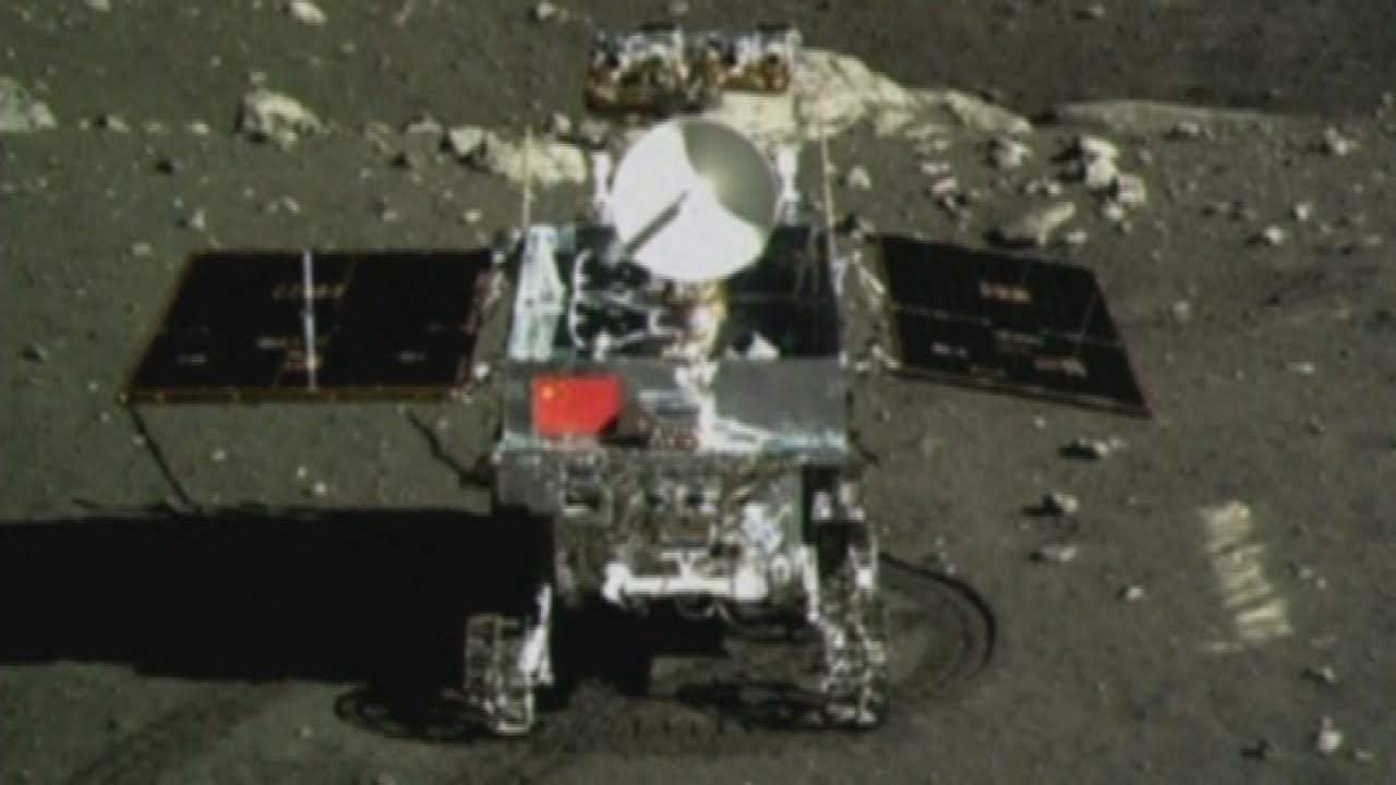 China's CHANG'E 4 Moon Rover Footage Released
