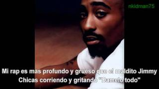 Tupac -Fake Ass Bitches Subtitulada traducida