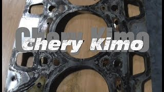 Установка ремня ГРМ Chery Kimo после снятия ГБЦ