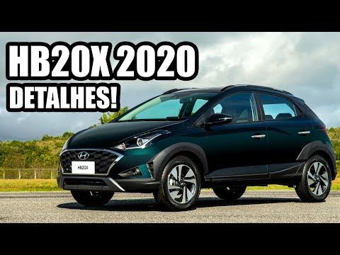 HYUNDAI HB20X 1.6 2020 EM DETALHES - Falando de Carro