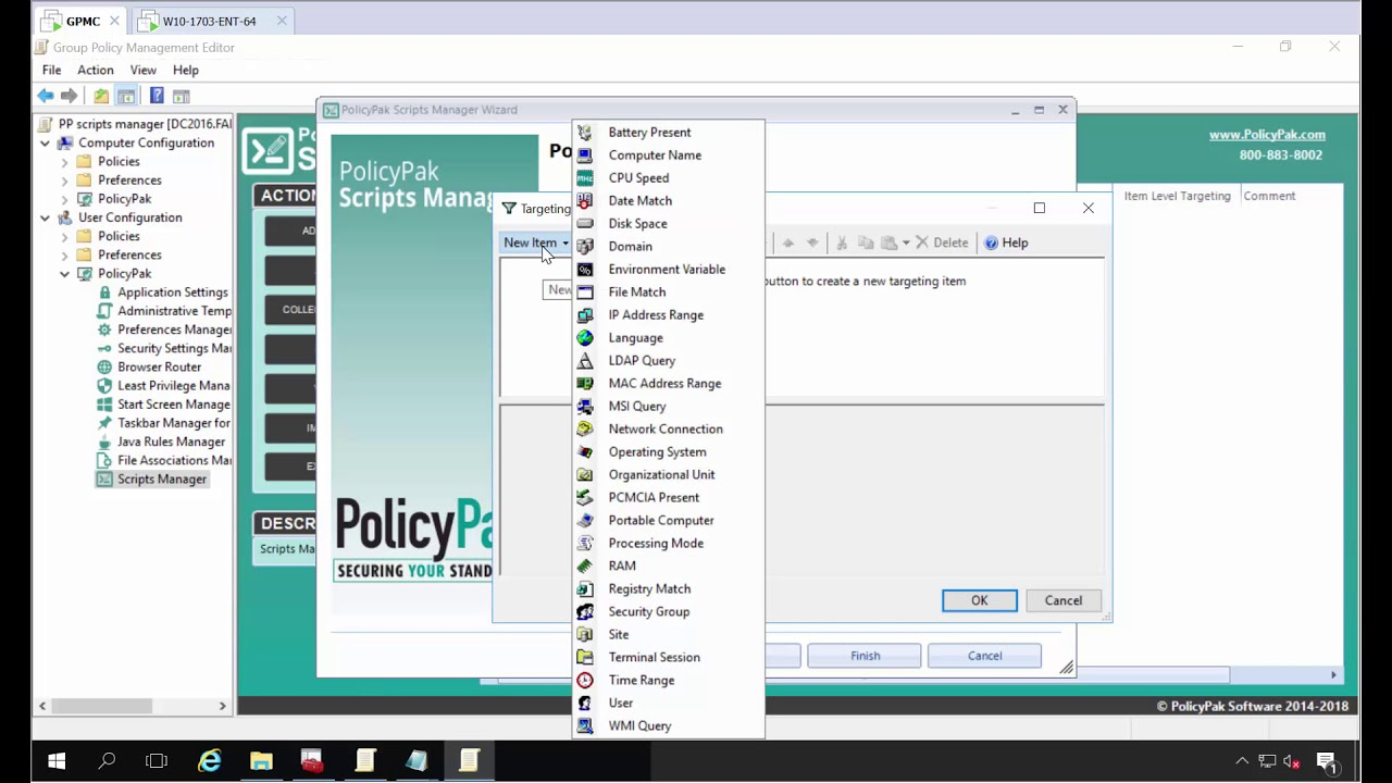 PolicyPak Scripts With Group Policy