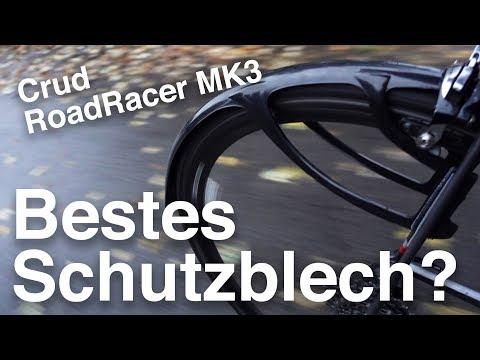 Crud RoadRacer MK3 Schutzbleche für Rennrad und Crossrad: Installation, Test, Tipps & Tricks