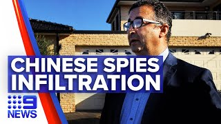 Labor MP home raided over Chinese spy allegations | 9 News Australia