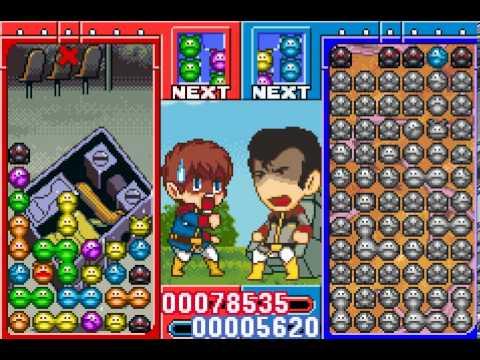 Gundam Puyo Puyo GBA
