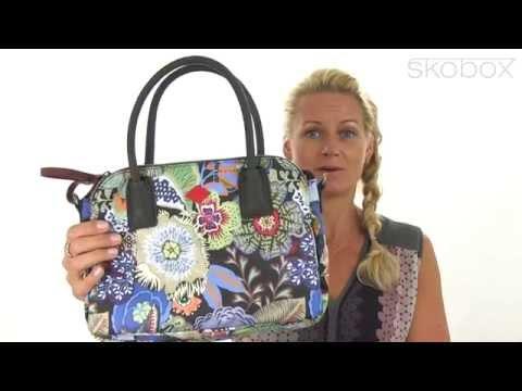 Skobox - Oilily S Handbag Black Ink i skønne farver - Køb Oilily tasker online