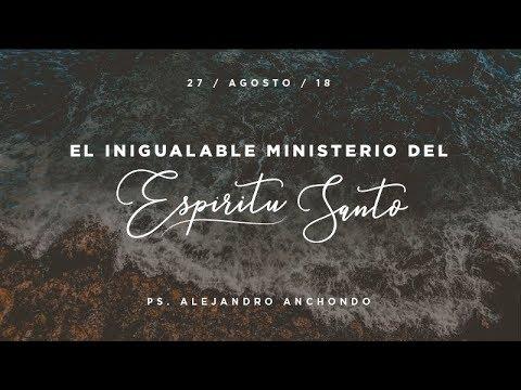 El inigualable ministerio del Espíritu Santo