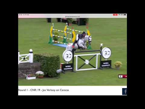 Good start for Jos and Caracas at CSI5***** GCL Hamburg.