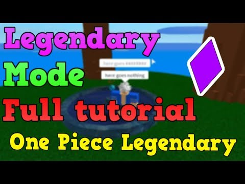 Download Opl How To Legendary Full Guide One Piece Legendary