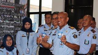 Pejabat Dilingkup Kanwil Kementerian Hukum dan HAM Kalsel Jalani Tes Urine