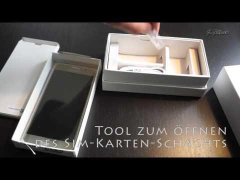 Samsung Galaxy S6 128GB Unboxing und Details