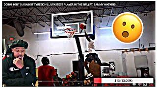 Tyreek Hill CAN DUNK WTF HE A HOOPER HOOPER !!! @Tyreek Hill @Deestroying
