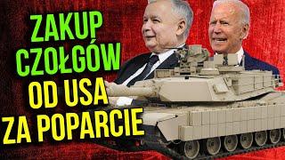 Wojskowy Ujawnia: Polska Kupi Czołgi od USA by PIS Zyskał Przychylność Joe Bidena?!