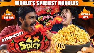 World\'s Spiciest Noodles Challenge - EXTREME!!! With Hari Baskar
