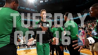 NBA Daily Show: Oct. 16 - The Starters