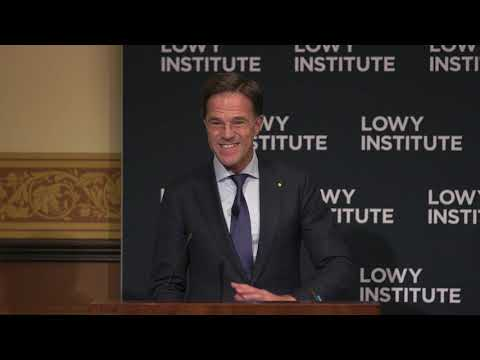 Corporate Event video with Dutch President Mark Rutte