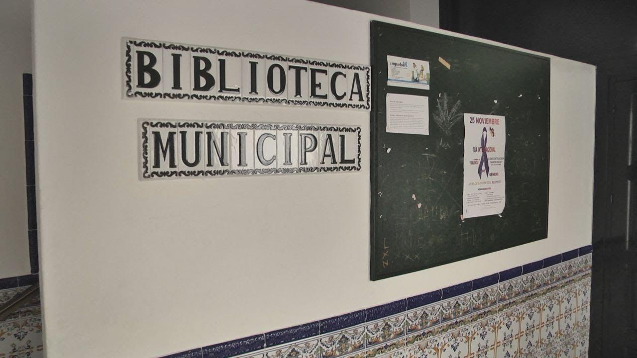 LA BIBLIOTECA DE MANILVA CERRADA POR DAÑOS EN EL EDIFICIO