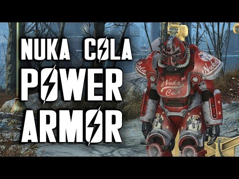 Nuka Cola Power Armor - How to Get It - Fallout 4 Nuka World