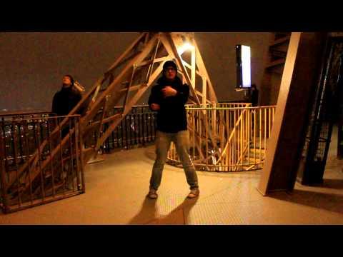 Siu Lim Tao op de Eiffeltoren