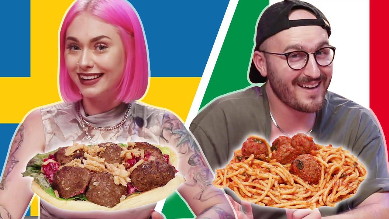 Swedish Vs. Italian Meatballs thumbnail
