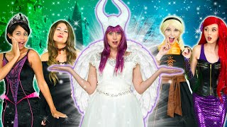 NICE MALEFICENT MAGIC SPELL. With Ariel, Belle, Moana, Jasmine. Totally TV Parody.