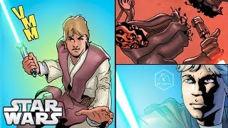 Luke Does THIS to Darth Maul in the Comics - Star Wars Comics Explained - Video Youtube