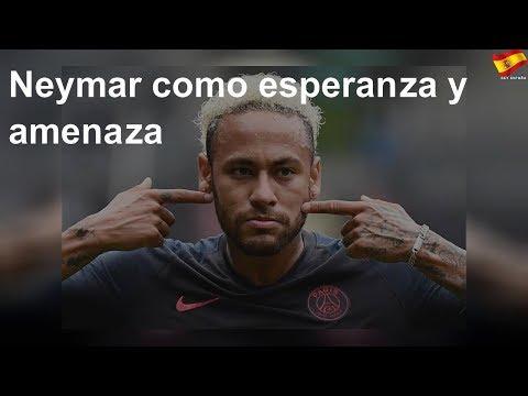 Neymar como esperanza y amenaza
