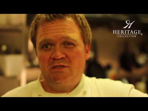 Darron Bunn, executive chef at Goodwood Estate in West Sussex