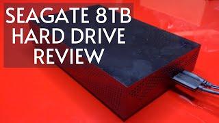Seagate STGY8000400 Desktop 8TB External Hard Drive HDD - USB 3.0 for PC Laptop & Mac Review