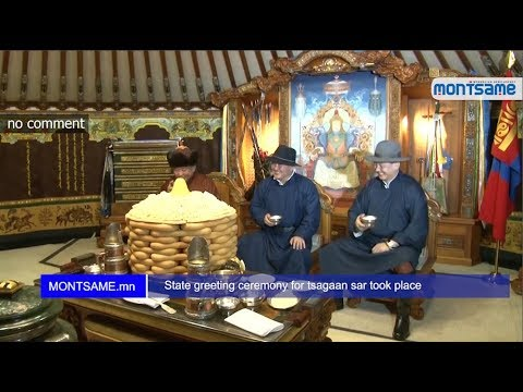 State greeting ceremony for tsagaan sar took place