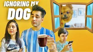 IGNORING MY DOG FOR 24 HOURS   Rimorav Vlogs
