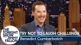 Бенедикт Камбербэтч, Try Not to Laugh Challenge with Benedict Cumberbatch
