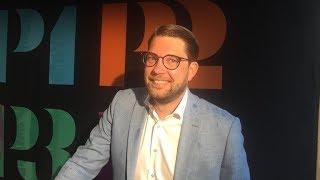 Cecilia Bodström Frågar Ut Jimmie Åkesson, Sist Ut I Sveriges Radios Partiledarutfrågning