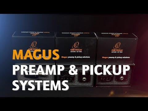 ORTEGA GUITARS | MAGUS PREAMP & PICKUP SYSTEM