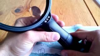 Große Lupe mit 3 hellen LEDs 14 cm 2-fach Linse 5-fach Zoom Lesehilfe im dunkeln