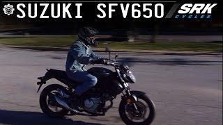 Suzuki SFV650 Test Drive